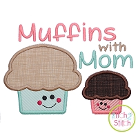 Muffins with Mom Applique