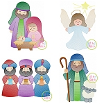 Nativity Sketch Design Set