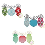 Ornament Trio Design Set