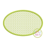 Oval 2 Motif Embroidery