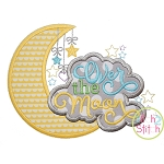 Over the Moon Applique