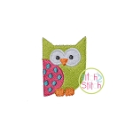 Owl 2 Embroidery Only Mini
