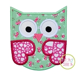Owl 4 Applique