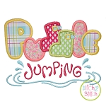 Puddle Jumping Applique