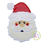 Santa Face 2 Applique