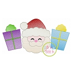 Santa Gifts Trio Sketch Embroidery