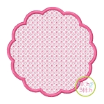 Scallop Circle Motif Embroidery