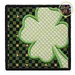 Shamrock Box Applique