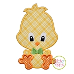 Sitting Chick Boy 2 Applique