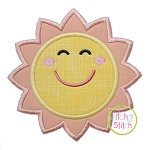 Smiling Sun Applique