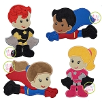 Superhero Applique Set