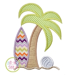 Surf Palm Applique