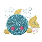 Sweet Fish Applique
