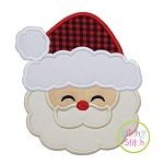 Sweet Santa Face Applique