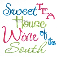 Sweet Tea House Wine