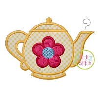 Teapot Applique
