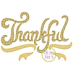 Thankful Motif Embroidery