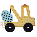 Tow Truck Easter Egg Applique