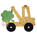 Tow Truck Shamrock Applique