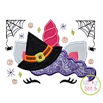 Unicorn Horn Witch Applique