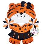 Tiger Cheer Applique