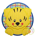 Tiger Circle Applique