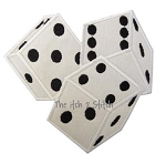 Triple Dice Applique