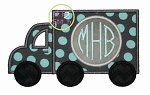 Truck Monogram Applique
