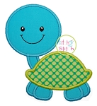 Turtle Boy 2 Applique