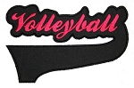 Volleyball tail Applique
