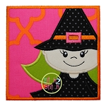 Witch Box Applique