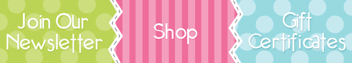 Shop, Newsletters, Gift Certificates