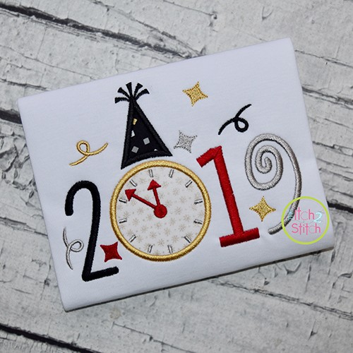 2019 New Year Applique