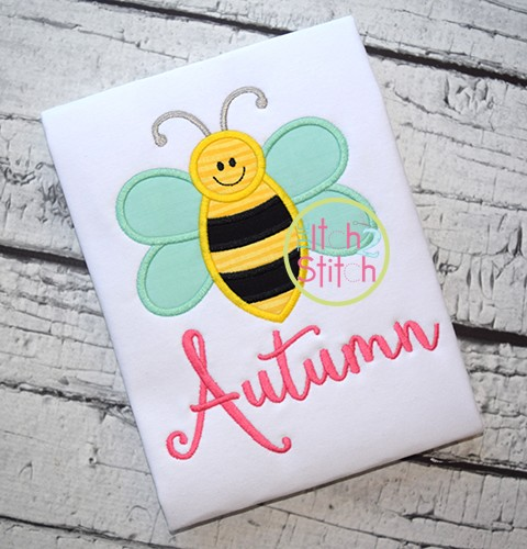Bee Applique