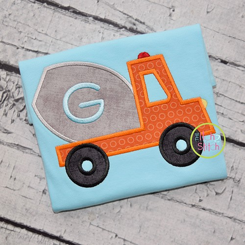 Cement Truck Applique