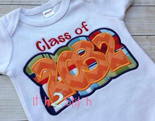 Class of 2032 Double Applique