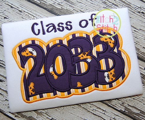 Class of 2033 Double Applique