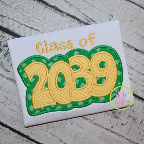 Class of 2039 Double Applique