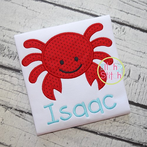 Crab 3 Applique