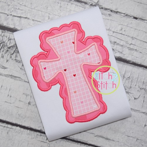 Cross 2 Double Applique
