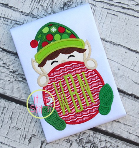 Elf Peeker Applique