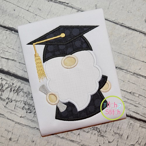 Gnome Grad Applique