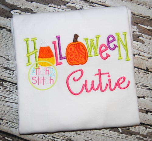 Halloween Cutie Applique