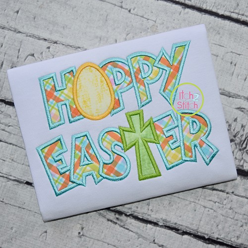 Hoppy Easter Applique