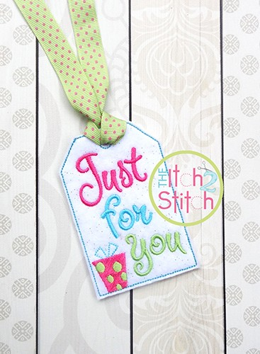 ITH Just For You Gift Card Holder & Gift Tag