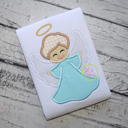 Little Angel Boy Applique