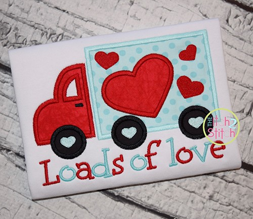 Loads of Love Valentine Truck