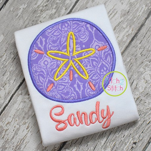 Sand Dollar Applique