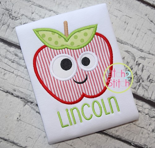 Silly Apple Applique