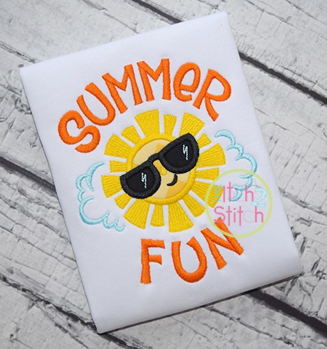 Summer Fun Applique